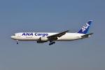 ポン太さんが、成田国際空港で撮影した全日空 767-381/ER(BCF)の航空フォト(写真)