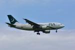 ポン太さんが、成田国際空港で撮影したパキスタン国際航空 A310-325/ETの航空フォト(写真)