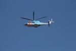 ジャンクさんが、東京ヘリポートで撮影した警視庁 AW139の航空フォト(写真)