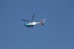 ジャンクさんが、東京ヘリポートで撮影した中日新聞社 BK117C-2の航空フォト(写真)