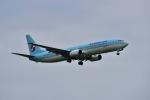ポン太さんが、成田国際空港で撮影した大韓航空 737-9B5の航空フォト(写真)