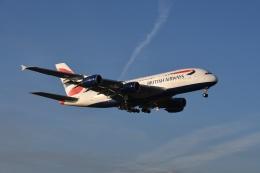 Eggersさんが、ロンドン・ヒースロー空港で撮影したブリティッシュ・エアウェイズ A380-841の航空フォト(写真)