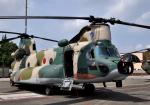 チャーリーマイクさんが、横田基地で撮影した航空自衛隊 CH-47J/LRの航空フォト(写真)