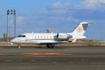 たまさんが、羽田空港で撮影したウェルズ・ファーゴ・バンク・ノースウェスト CL-600-2B16 Challenger 605の航空フォト(写真)