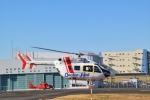 Miyabi24さんが、東京ヘリポートで撮影した朝日航洋 BK117C-2の航空フォト(写真)