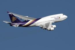 planetさんが、羽田空港で撮影したタイ国際航空 747-4D7の航空フォト(写真)