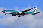 たっくさんが、成田国際空港で撮影したキャセイパシフィック航空 777-367/ERの航空フォト(写真)