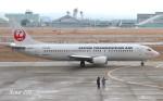 RINA-200さんが、小松空港で撮影した日本トランスオーシャン航空 737-4Q3の航空フォト(写真)
