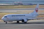 神宮寺ももさんが、関西国際空港で撮影した日本トランスオーシャン航空 737-446の航空フォト(写真)