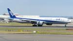 誘喜さんが、ロンドン・ヒースロー空港で撮影した全日空 777-381/ERの航空フォト(写真)
