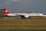 JRF spotterさんが、成田国際空港で撮影したターキッシュ・エアラインズ 777-35R/ERの航空フォト(写真)