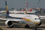 JRF spotterさんが、チャトラパティー・シヴァージー国際空港で撮影したジェットエアウェイズ 777-35R/ERの航空フォト(写真)