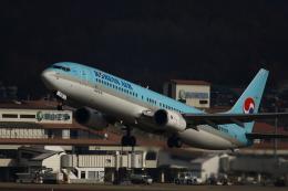 Richard niiさんが、岡山空港で撮影した大韓航空 737-9B5の航空フォト(写真)