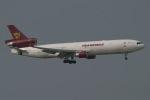 JRF spotterさんが、香港国際空港で撮影したトランスマイル・エア・サービス MD-11Fの航空フォト(写真)