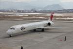 武彩航空公司(むさいえあ)さんが、山形空港で撮影した日本航空 MD-90-30の航空フォト(写真)