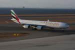 プルシアンブルーさんが、中部国際空港で撮影したエミレーツ航空 A340-541の航空フォト(写真)