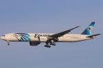 安芸あすかさんが、ロンドン・ヒースロー空港で撮影したエジプト航空 777-36N/ERの航空フォト(写真)