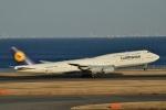 妄想竹さんが、羽田空港で撮影したルフトハンザドイツ航空 747-830の航空フォト(写真)