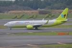 amagoさんが、成田国際空港で撮影したジンエアー 737-8SHの航空フォト(写真)
