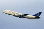 sunagimoさんが、羽田空港で撮影したサウジアラビア王国政府 747-3G1の航空フォト(写真)