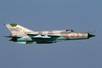 sunagimoさんが、元山葛麻空港で撮影した朝鮮人民軍空軍  MiG-21の航空フォト(写真)
