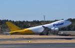 fortnumさんが、成田国際空港で撮影したポーラーエアカーゴ 747-46NF/SCDの航空フォト(写真)