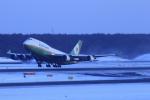 中村 昌寛さんが、新千歳空港で撮影したエバー航空 747-45Eの航空フォト(写真)