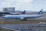 神宮寺ももさんが、関西国際空港で撮影したキャセイパシフィック航空 777-367の航空フォト(写真)