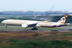 Mar Changさんが、スワンナプーム国際空港で撮影したエティハド航空 777-3FX/ERの航空フォト(写真)