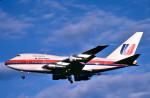 トロピカルさんが、成田国際空港で撮影したユナイテッド航空 747SP-21の航空フォト(写真)