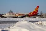 北の熊さんが、新千歳空港で撮影した海南航空 737-84Pの航空フォト(写真)