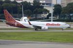 Koba UNITED®さんが、シンガポール・チャンギ国際空港で撮影したバティク・エア 737-8GPの航空フォト(写真)
