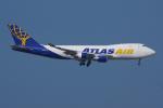 PASSENGERさんが、香港国際空港で撮影したアトラス航空 747-47UF/SCDの航空フォト(写真)