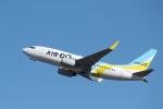 ぽん太さんが、羽田空港で撮影したAIR DO 737-781の航空フォト(写真)