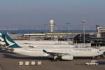 安芸あすかさんが、関西国際空港で撮影したキャセイパシフィック航空 A330-343Xの航空フォト(写真)