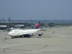 金魚さんが、中部国際空港で撮影したノースウエスト航空 747-451の航空フォト(写真)