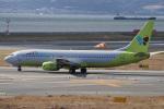 神宮寺ももさんが、関西国際空港で撮影したジンエアー 737-86Nの航空フォト(写真)