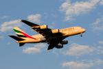 X8618さんが、スワンナプーム国際空港で撮影したエミレーツ航空 A380-842の航空フォト(写真)