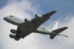 チャッピー・シミズさんが、厚木飛行場で撮影した海上自衛隊 P-1の航空フォト(写真)