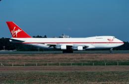 トロピカルさんが、成田国際空港で撮影したヴァージン・アトランティック航空 747-212Bの航空フォト(写真)