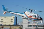 IL-18さんが、東京ヘリポートで撮影した東邦航空 AS350B Ecureuilの航空フォト(写真)