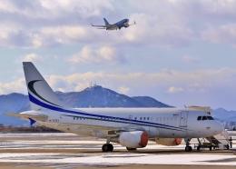 Airway-japanさんが、函館空港で撮影したMINTH グループ A318-112 CJ Eliteの航空フォト(写真)