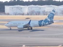 HANEDA 747さんが、成田国際空港で撮影したBBJ One 737-7CJ BBJの航空フォト(写真)