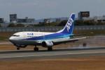 青春の1ページさんが、伊丹空港で撮影したANAウイングス 737-54Kの航空フォト(写真)