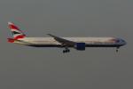 PASSENGERさんが、香港国際空港で撮影したブリティッシュ・エアウェイズ 777-336/ERの航空フォト(写真)