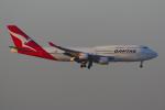 PASSENGERさんが、香港国際空港で撮影したカンタス航空 747-48Eの航空フォト(写真)