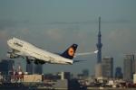 VIPERさんが、羽田空港で撮影したルフトハンザドイツ航空 747-430の航空フォト(写真)
