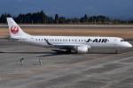 euro_r302さんが、鹿児島空港で撮影したジェイ・エア ERJ-190-100(ERJ-190STD)の航空フォト(写真)