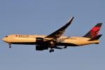 camelliaさんが、成田国際空港で撮影したデルタ航空 767-3P6/ERの航空フォト(写真)