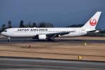 euro_r302さんが、鹿児島空港で撮影した日本航空 767-346/ERの航空フォト(写真)